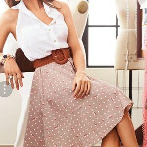 NWT- Sexy NY&Co Eva Mendes Halter top size XL